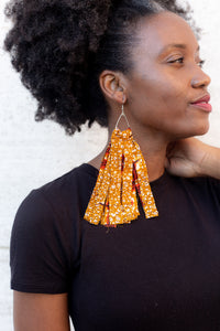 Flames Elegantly Long Earrings