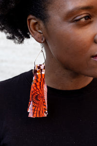 Neutrals Fringe Earrings
