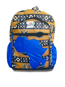 Mud Cloth BHLE Mid Size (Blue Africa)