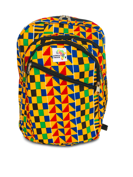 Yellow Happiness Full-Size Backpack HD