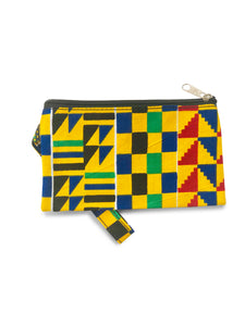 Yellow Happiness Wristlet