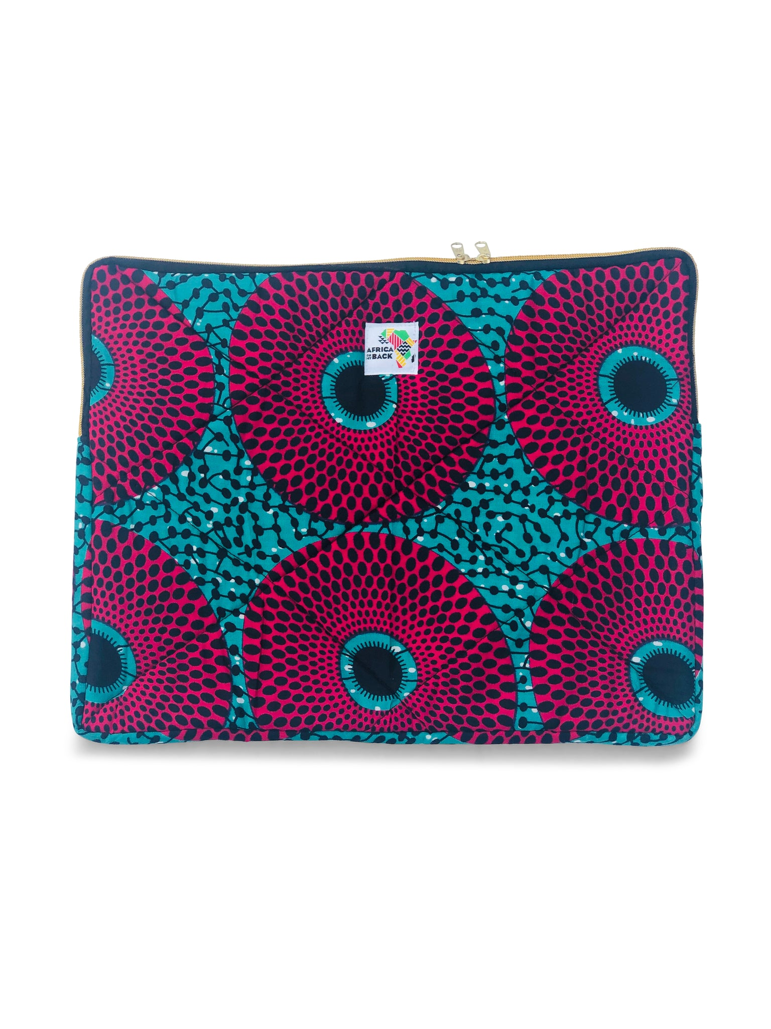 "17"" Game Changer Aqua Fuchsia Laptop Sleeve"