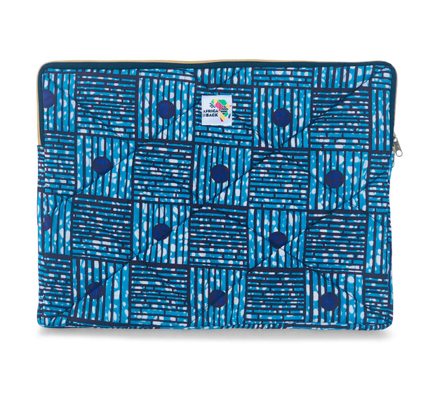 "17"" Blue Purple Laptop Sleeve"