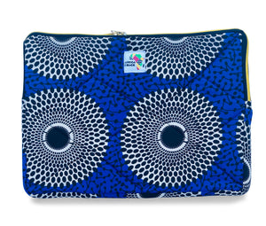 "15"" Game Changer Blue White Laptop Sleeve"