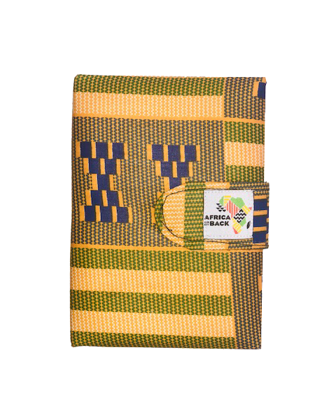 Green, Yellow and Blue Small Notebook