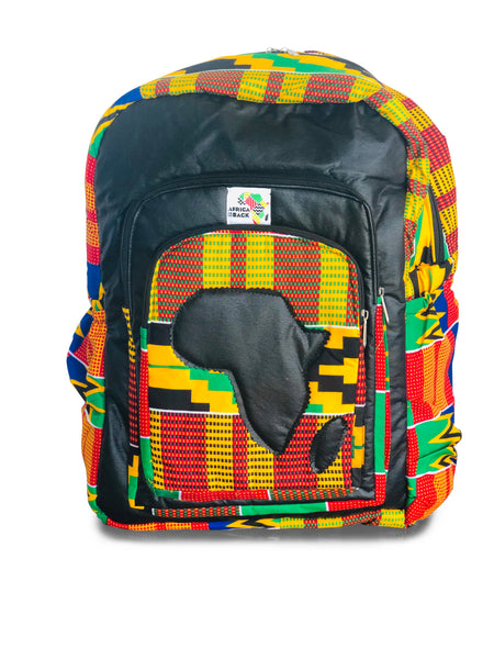 Limited Edition Africa Full Size Backpack (Queen Mother Black Continent)