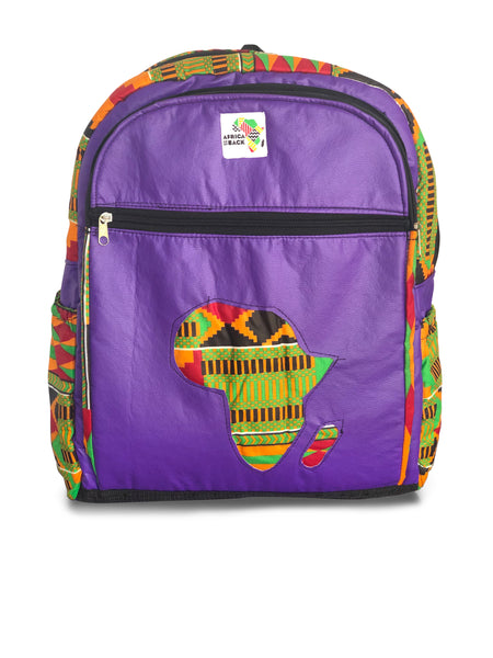 Limited Edition Africa Full Size Backpack (Red, Green, Power)