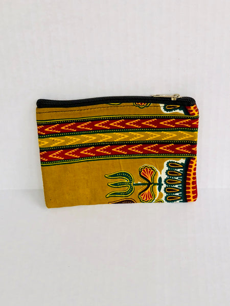 Coin Purse/Cardholder Five - Africa On My Back Backpack