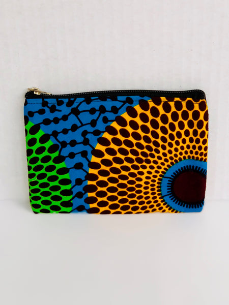 Coin Purse/Cardholder Four - Africa On My Back Backpack