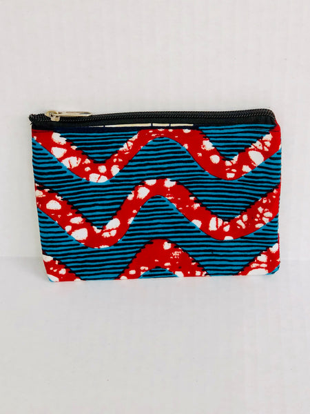 Coin Purse/Cardholder One - Africa On My Back Backpack