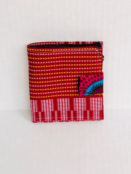 Wallet - Colorful Three - Africa On My Back Backpack