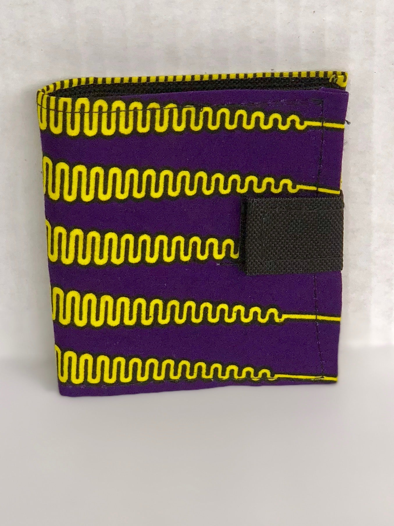 Wallet - Purple/Yellow - Africa On My Back Backpack