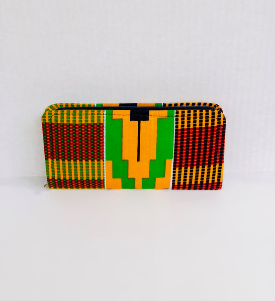 Wallet - Compartments Queen Mother - Africa On My Back Backpack