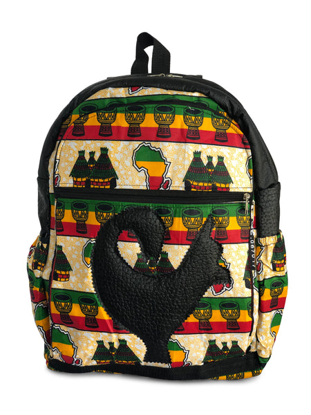Black History Limited Edition Sankofa (Villages and Drums Black)