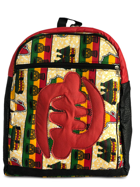 Black History Limited Edition Gye Nyame (Village and Drums Red)