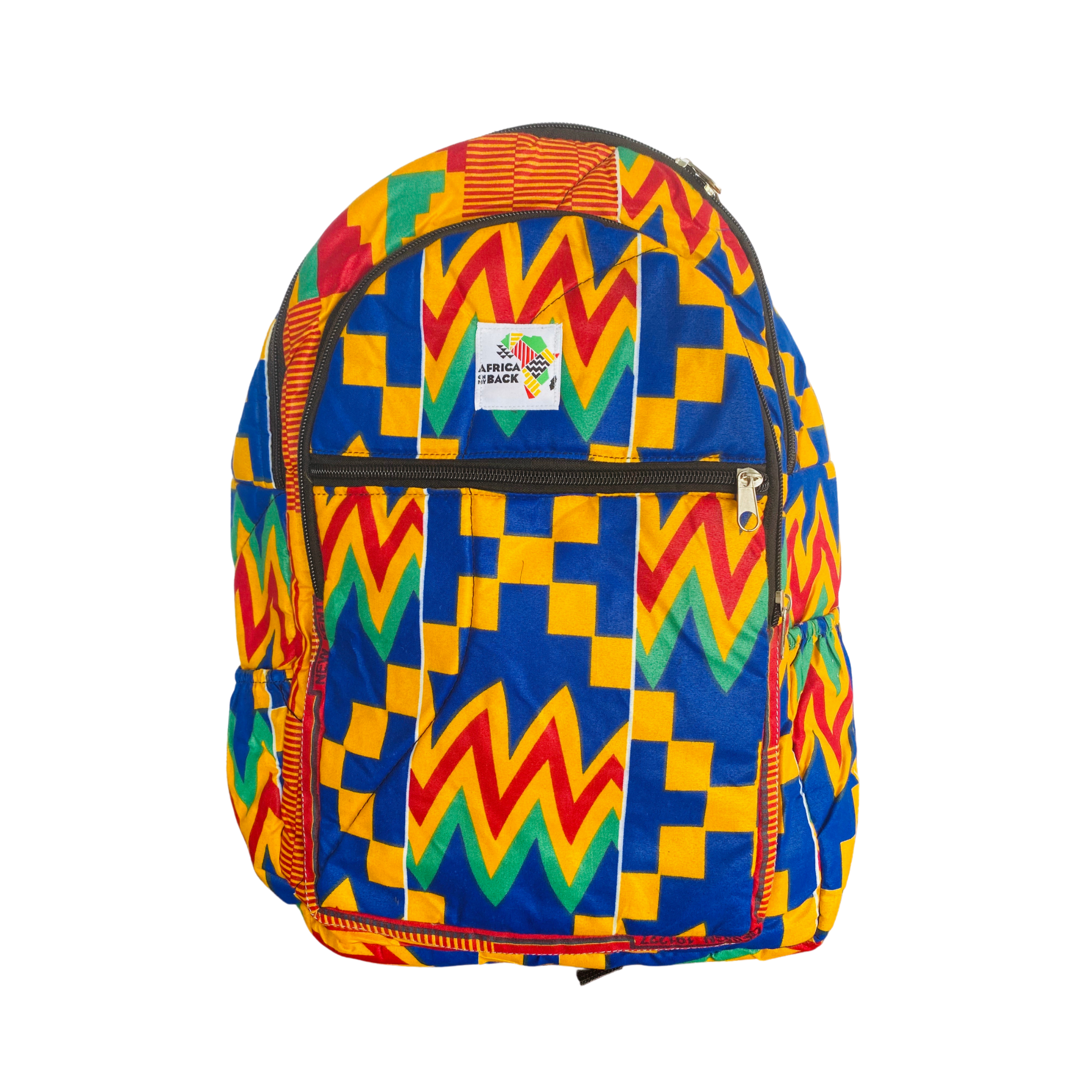 Just For Us Multi Color Mid Size Backpack