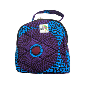Game Changer Purple & Blue Lunch Bag