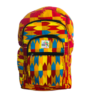 Red and Blue Goodness Full Size Backpack
