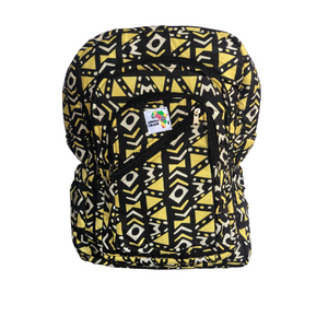 Yellow Maze Full Size Backpack