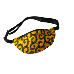 Yellow with Vines Fanny Pack