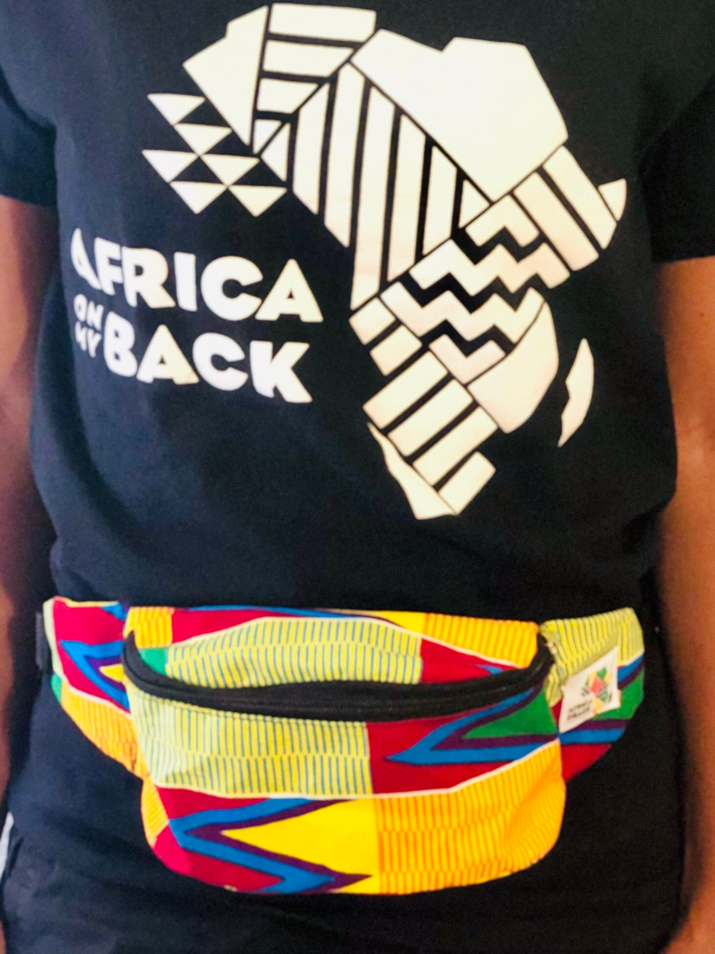 Let Me See Fanny Pack - Africa On My Back Backpack