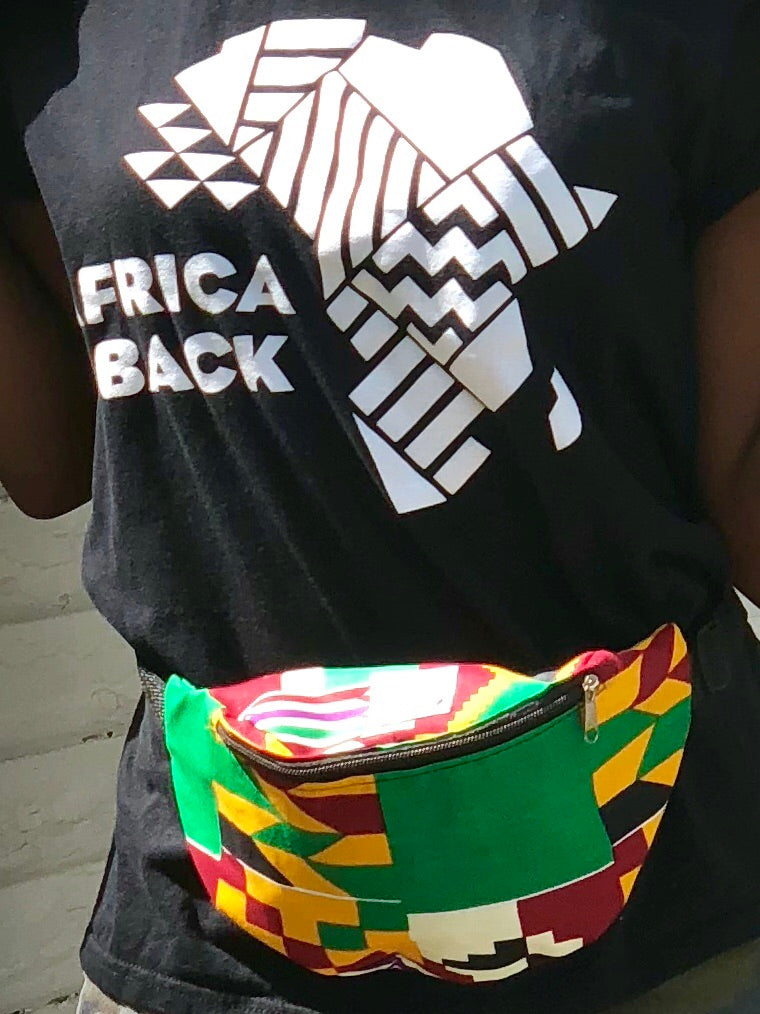 Oval More Green Fanny Pack - Africa On My Back Backpack