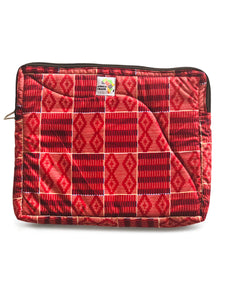 M- Red, Red Laptop Sleeve