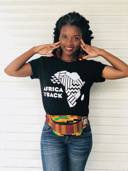 Queen Mother Fanny Pack - Africa On My Back Backpack