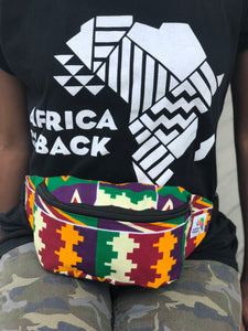 Building Blocks Fanny Pack - Africa On My Back Backpack