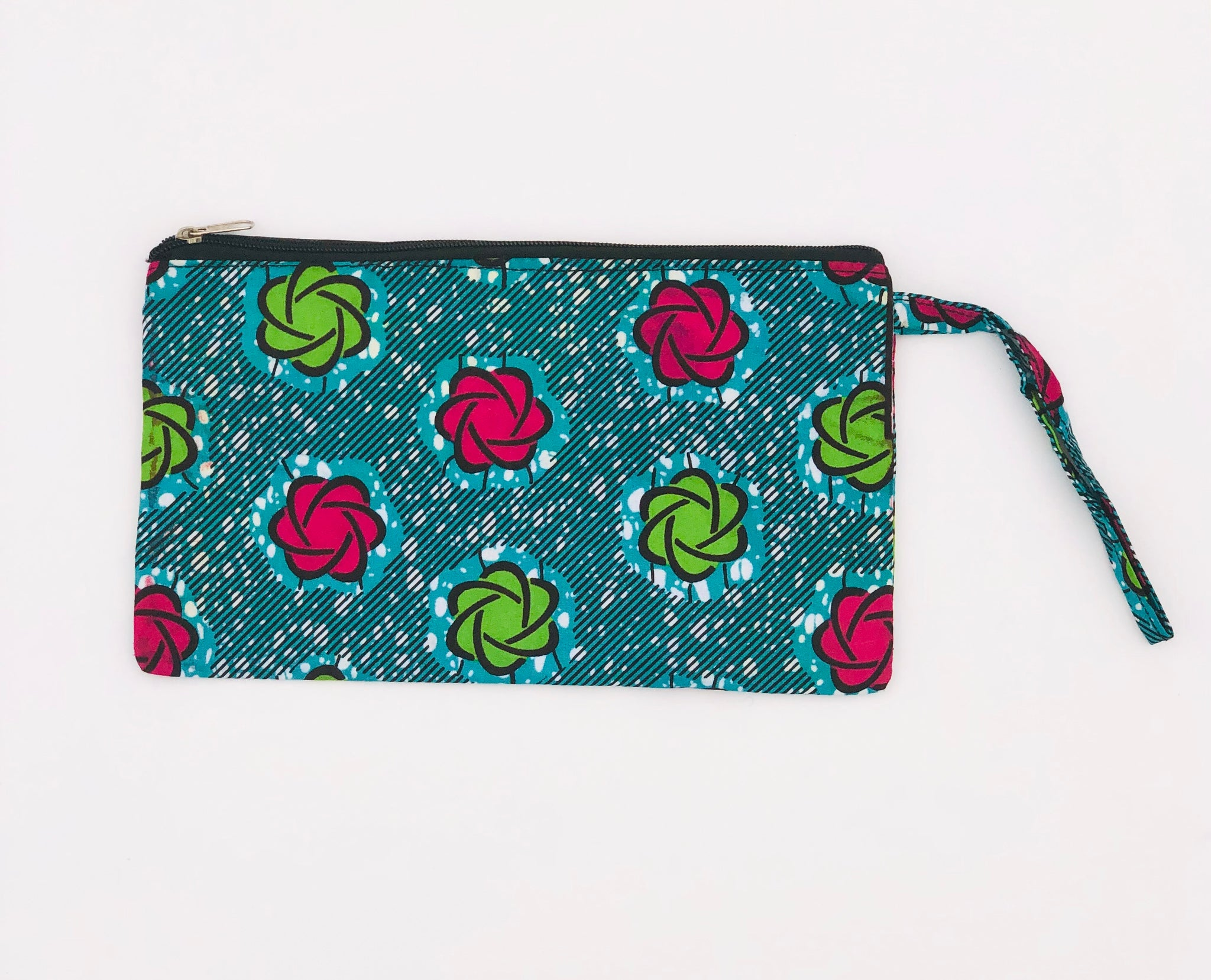 Flower Power Clutch Wristlet