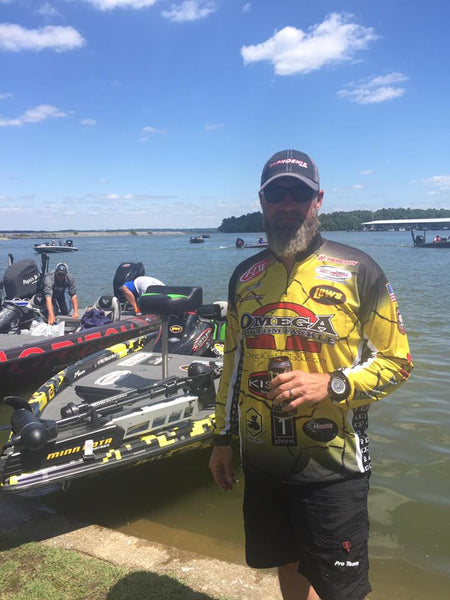 "Omega Custom Tackle Owner Brad Fuller "" My last place finish was a success"""