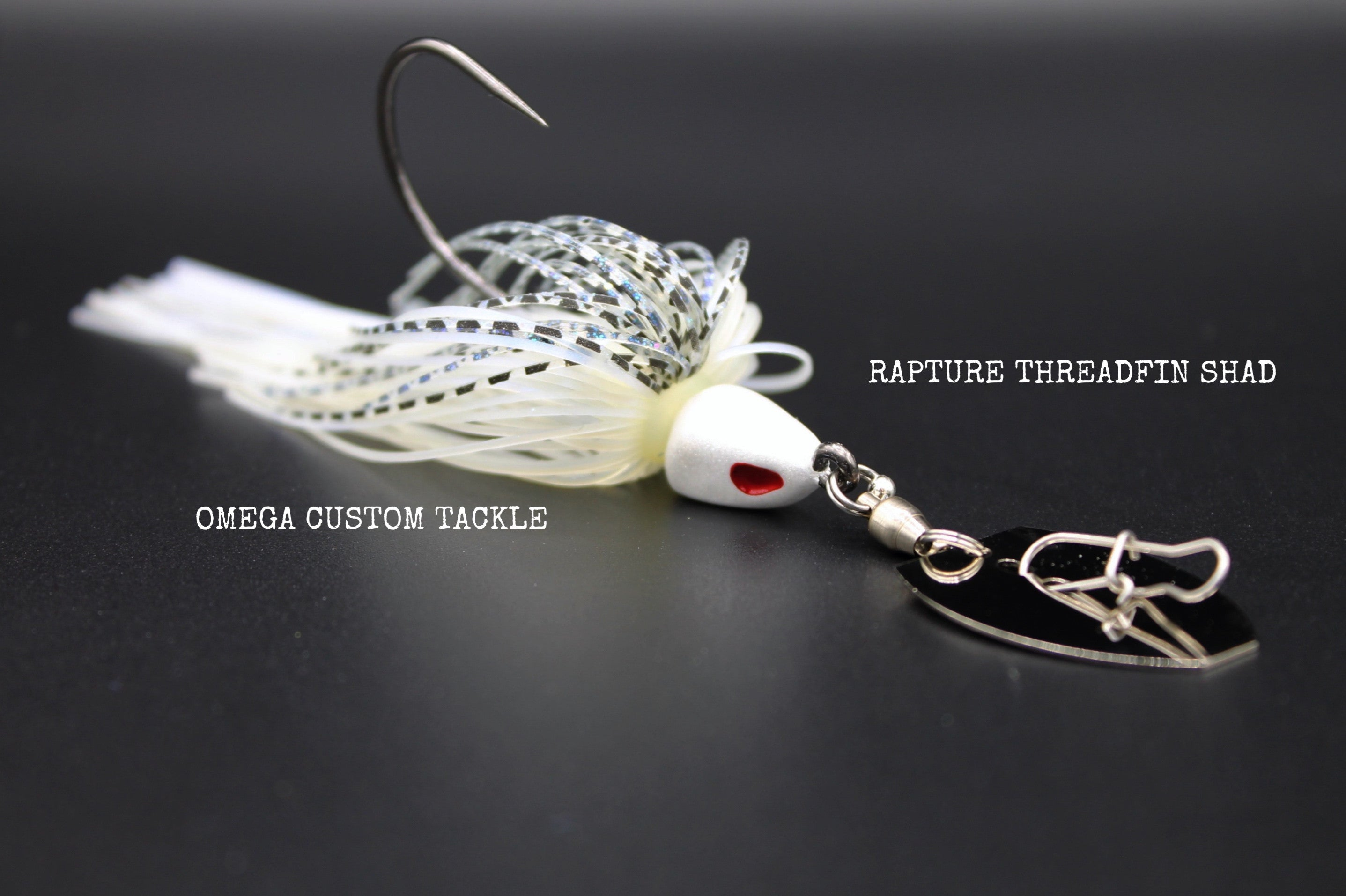 BW77F Spinning black Con amo Col RAPTURE BASS JIG 7 gr Chartreuse shad
