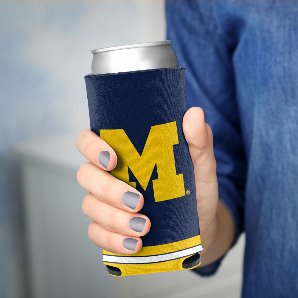 Michigan Wolverines - Slim Can Coozie
