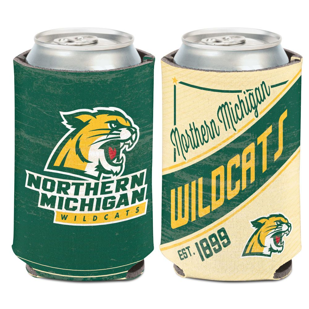 Northern Michigan Wildcats - Logo Coozie