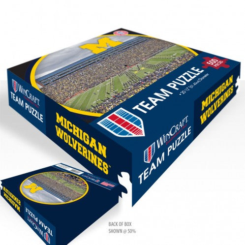 Michigan Wolverines Circle Puzzle