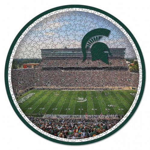 Michigan State Spartans Circle Puzzle