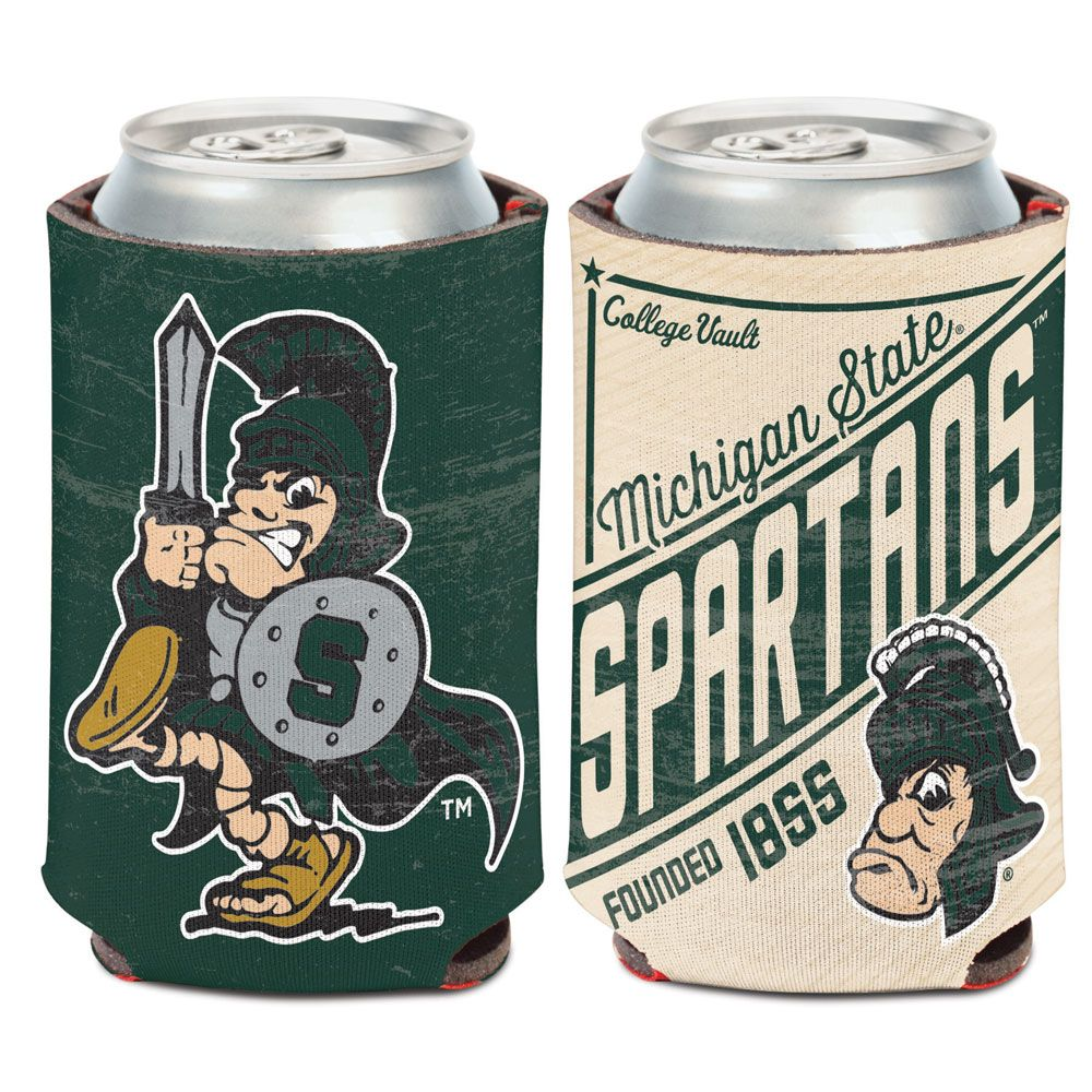 Michigan State Spartans - Vintage Logo Coozie