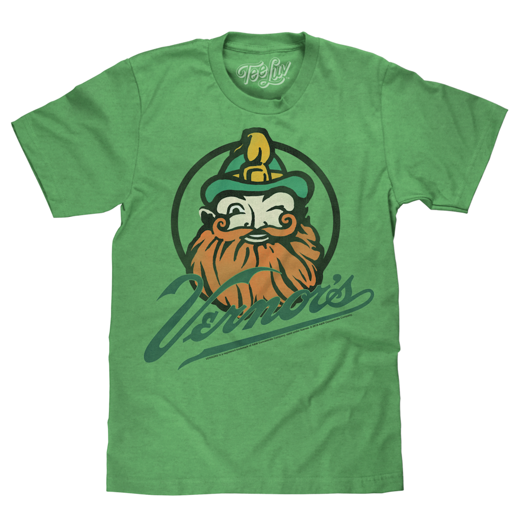 Mens Vernor's Gnome T-shirt (Heather Green)