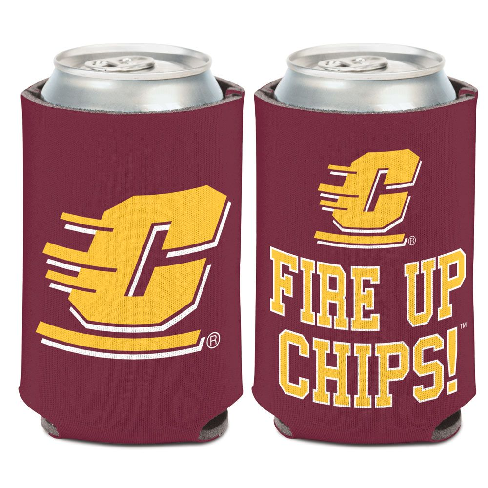 Central Michigan Chippewas - Logo Coozie