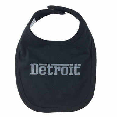 Detroit Baby bib made in USA-Detroit Shirt Company