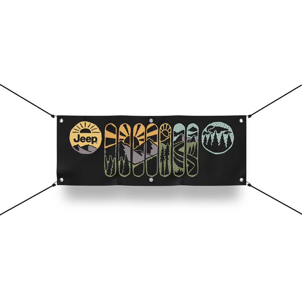 Banner - Jeep® Atomic Grille