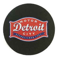 Rubber Coaster Set Detroit Buckle Detroit Shirt Company