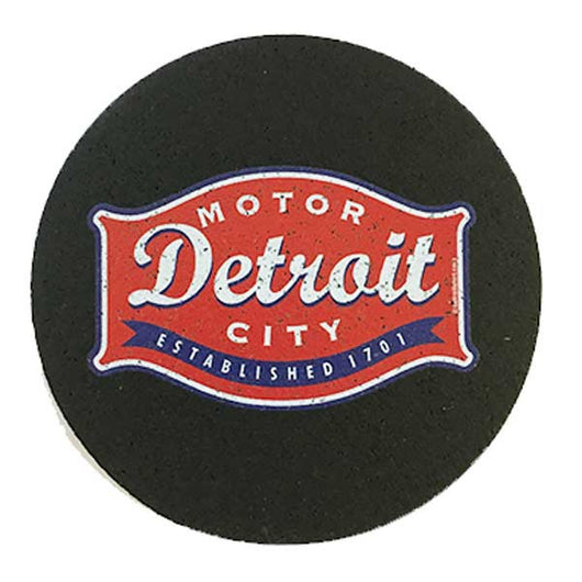 Made from recycled tires and indestructable Coaster Set Detroit Buckle Coasters Detroit Shirt tshirt t-shirt apparel and housewares Company