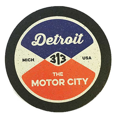 Rubber Coaster Set Detroit Coasters Detroit Shirt Company
