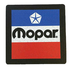 Mopar Vintage LogoCoaster Set Made from recycled tires and indestructable Coasters Detroit Shirt tshirt t-shirt apparel and housewares Company