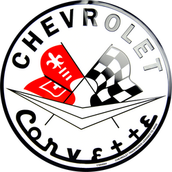 Sign - Chevrolet Corvette Circle