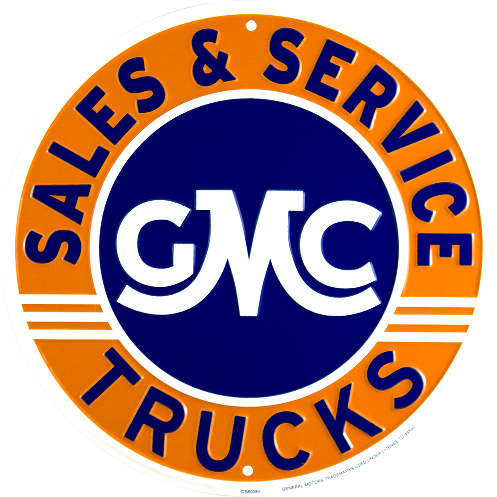 Sign - GMC Trucks Sales and Service Circle