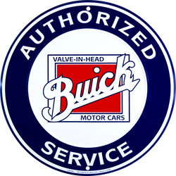 Sign - Buick Authorized Service