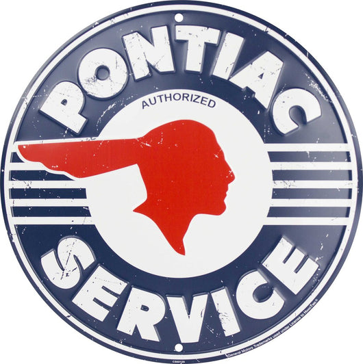 Sign - Pontiac Service