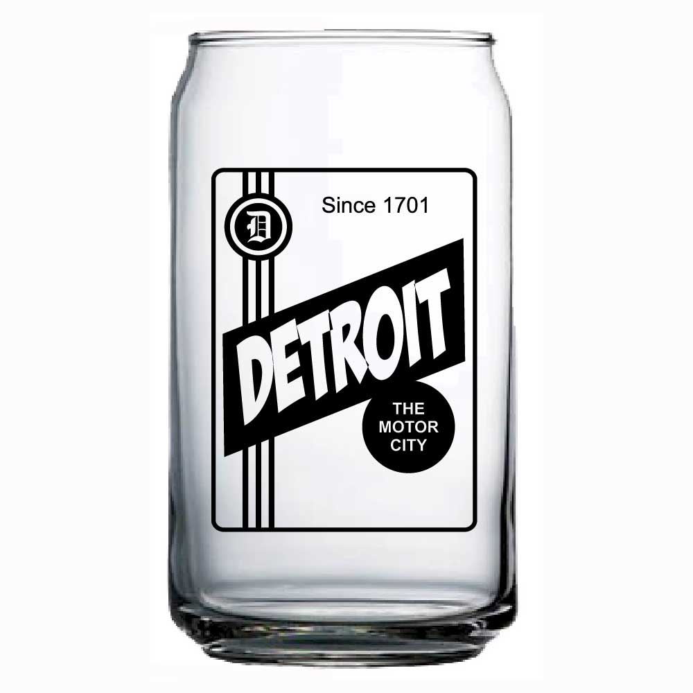 Can Glass - Detroit Label